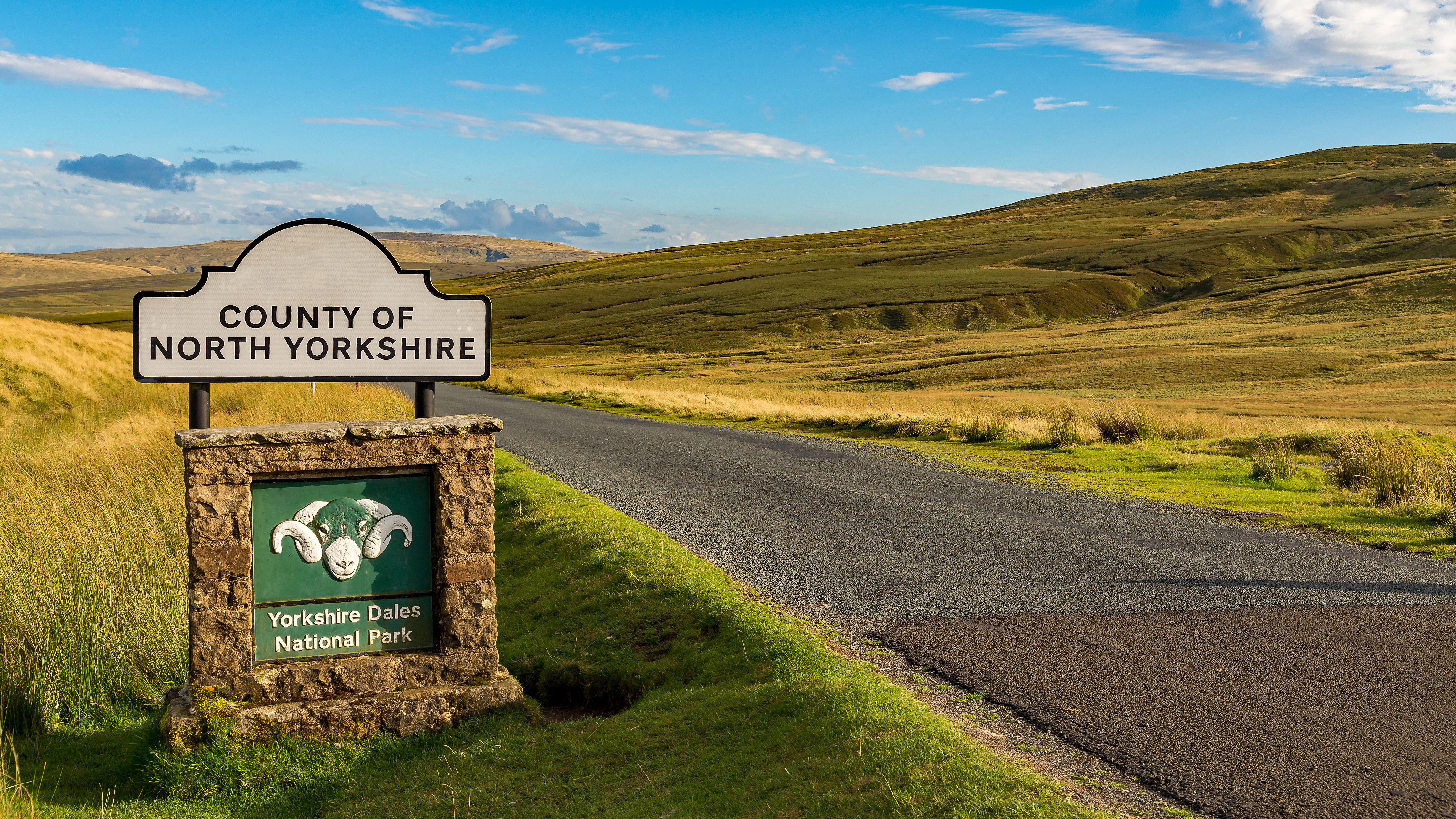 Sign: County of North Yorkshire