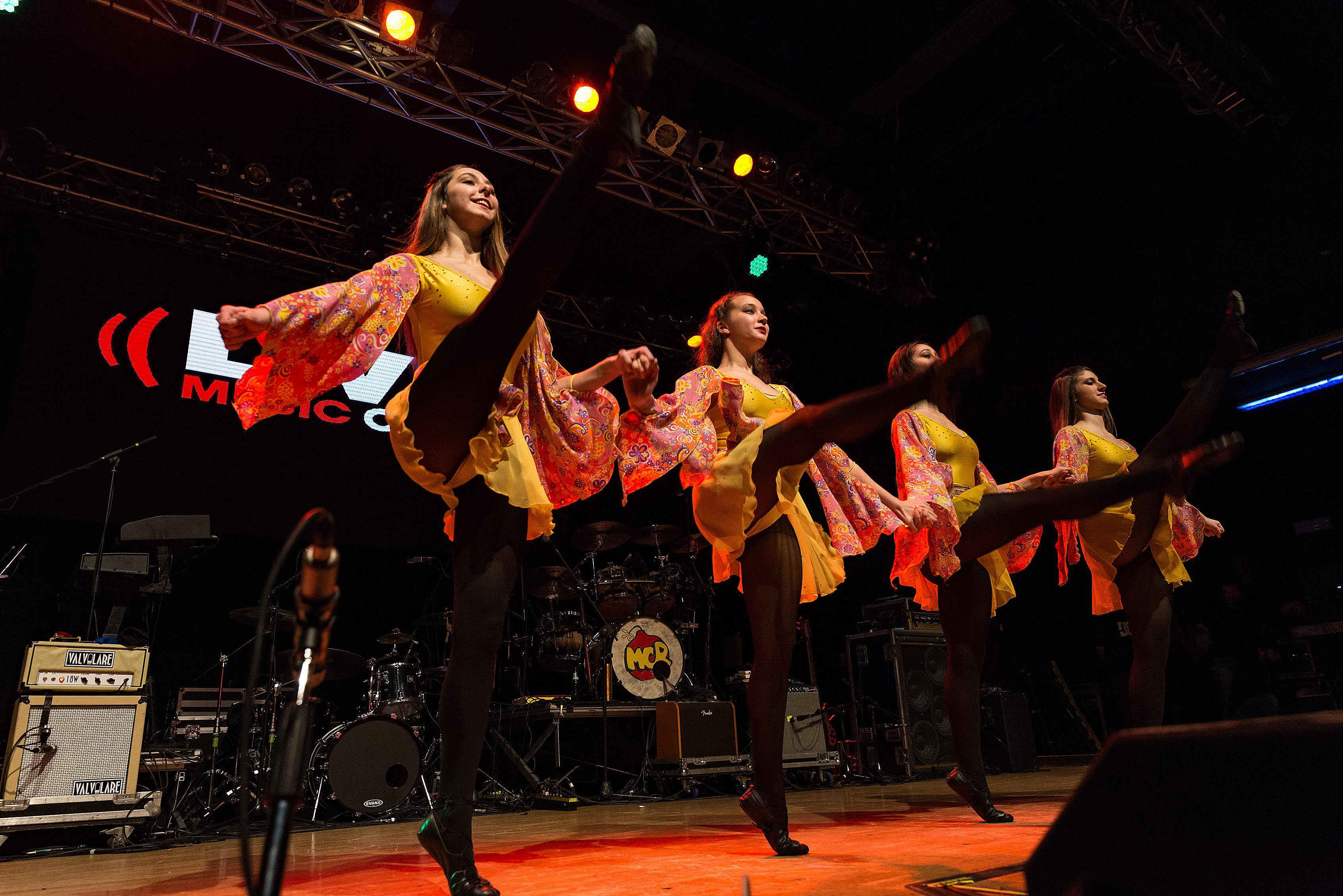 Milan, Italy. 16 March 2018. Irish dancers performs at Live Music Club for the Irish folk festival. Brambilla Simone Photography Live News