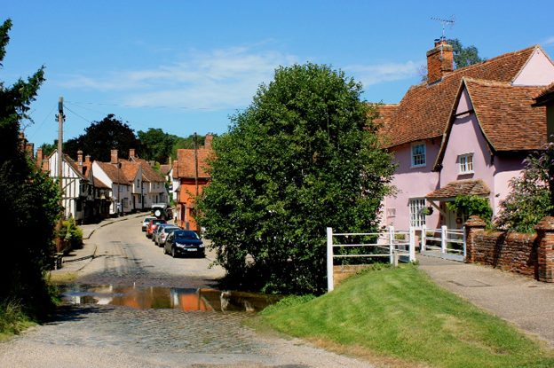 Kersey Village, Suffolk