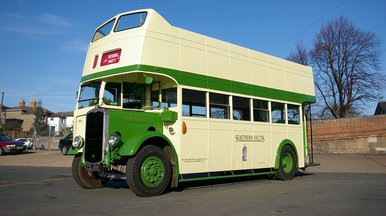 Southern Vectis Old Lady bus